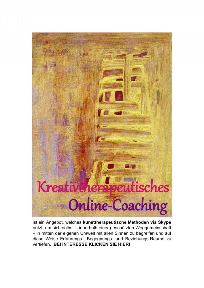 Kreativtheraepeutisches Online-Coaching